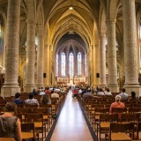 church, interior, cathedral, arch, ceremony, sacrament, pray, practice, mass, luxembourg, christian, statue