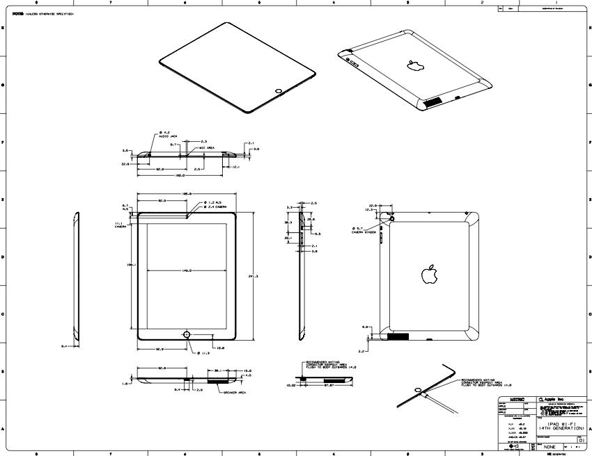 Apple Inc (NASDAQ:AAPL) 4th Generation iPad