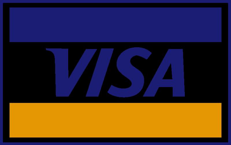 Visa, American Express, Mastercard