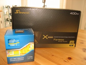 Credit: Intel i7 2600k & Seasonic X-400 by Johan van der Wijk