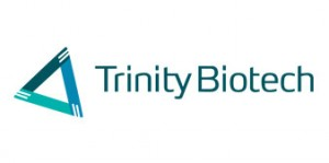 Trinity Biotech plc (ADR) (NASDAQ:TRIB)