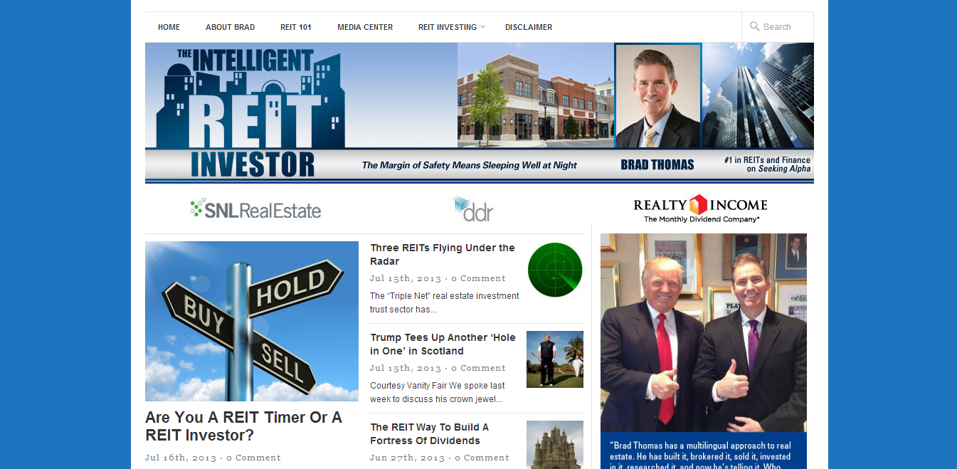 The Intelligent REIT Investor