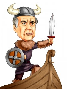 Carl Icahn as viking