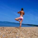 450px-Beach_yoga