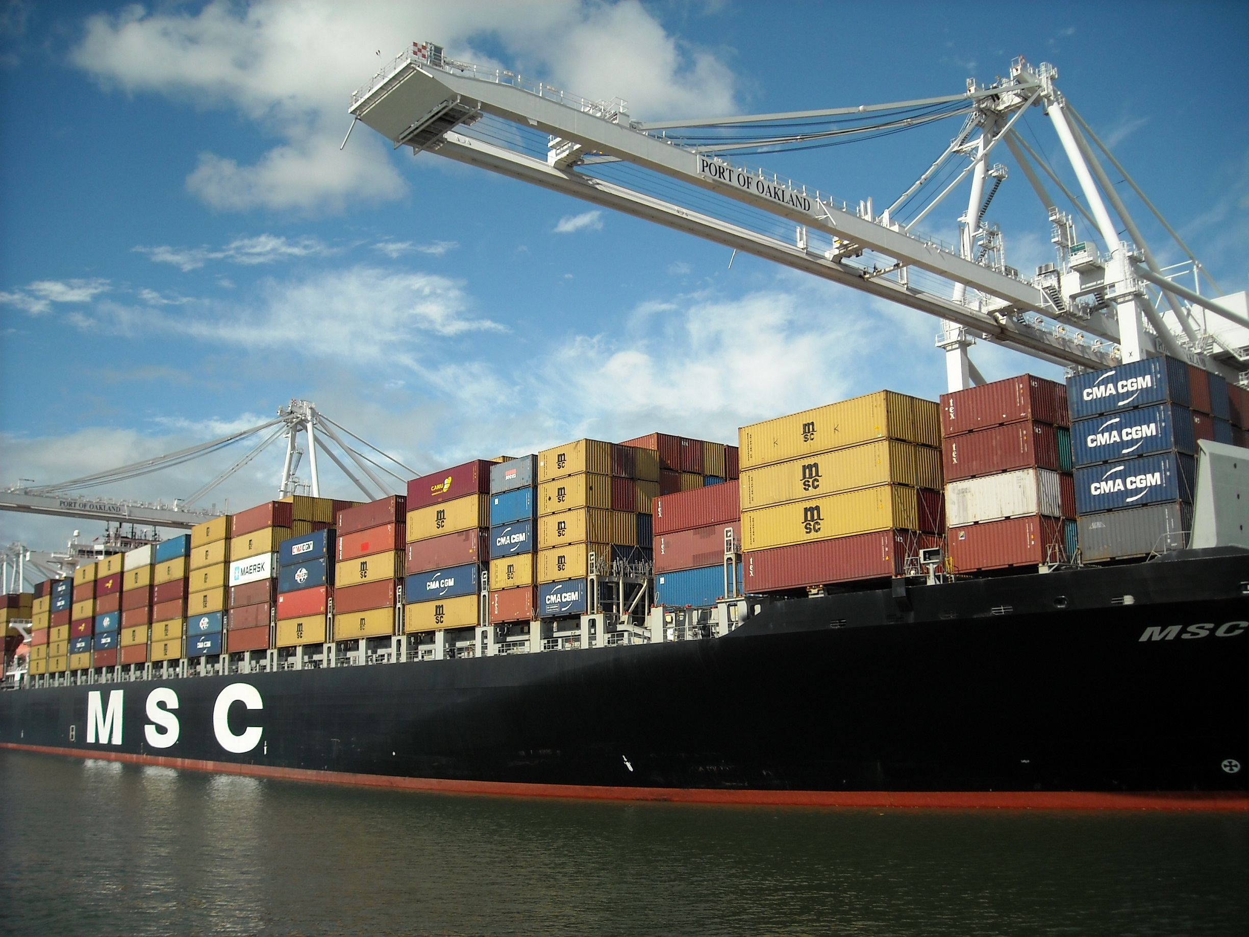 MSC Shipping Container Ship SBLK