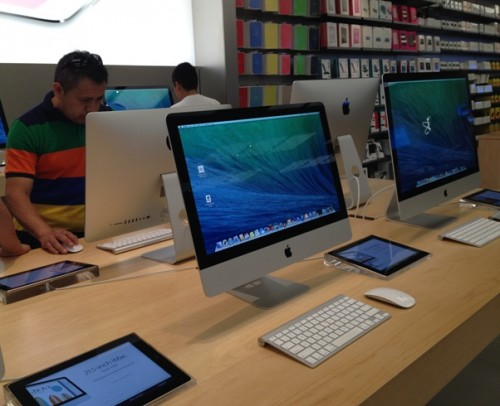 Apple AAPL iMac Sales Store Good