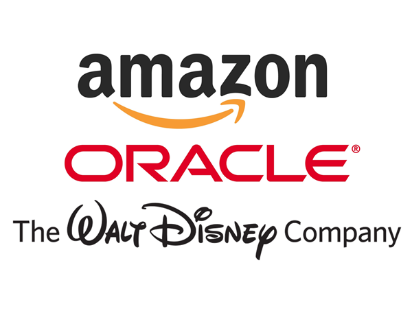 Amazon, is AMZN a good stock to buy, Oracle, is ORCL a good stock to buy, Walt Disney, is DIS a good stock to buy, Jeff Bezos, Larry Ellison, Bob Iger, security, spending,