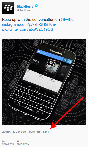 BlackBerry, is BBRY a good stock to buy, Apple, is AAPL a good stock to buy, iPhone, tweet, Twitter, twitter for iPhone,