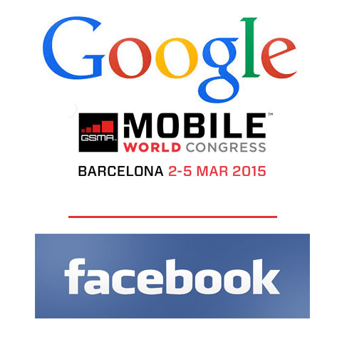 Facebook Inc (FB), Google Inc (GOOGL) at MWC 2015