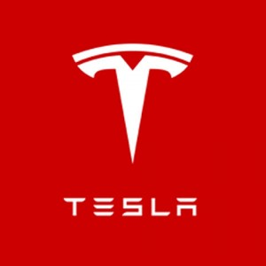 Tesla Motors Inc (NASDAQ:TSLA) TSLA Logo-Red