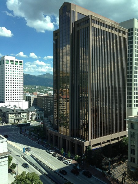 Utah-salt lake city-buliding, skyscraper, downtown-office