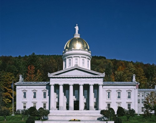 Vermont Capitol, Montpelier 11 States that have Highest Domestic Violence Rates in America