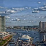 baltimore-Maryland scenic sky clouds