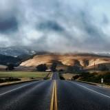 carlifonia highway mountines