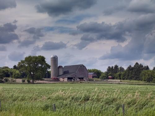 farm-North dakota, barn, rural