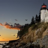 light house Maine coast