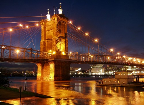 suspension-kentucky-bridge-ohio river 11 States that have Highest Domestic Violence Rates in America