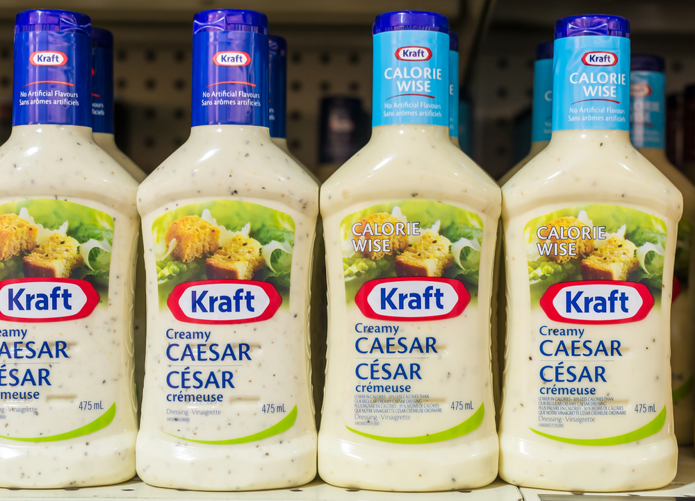 Kraft foods food, salad, dressing, wise, horizontal KRFT