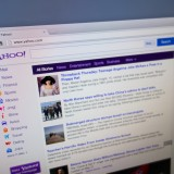 Yahoo! Inc. (NASDAQ:YHOO), Homepage, Search, Screen, website, browser, mac,