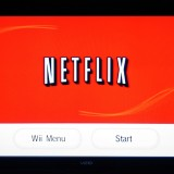 Netflix, Inc. (NASDAQ:NFLX), Netflix menu on the Wii channel, Sign, logo, Brand, Program, Start, Streaming, Surfing,