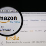 Amazon.com, Inc. (NASDAQ:AMZN), Homepage, Close Up, Logo, Sign, Website, Online Shopping, Screen