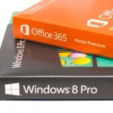 Microsoft Corporation (NASDAQ:MSFT), Microsoft Software Retail Boxes , Isolated, Windows 8 Pro,