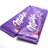 Mondelez International Inc (NASDAQ:MDLZ), Milka, Chocolate, Alpine Milk, Isolated, Dessert