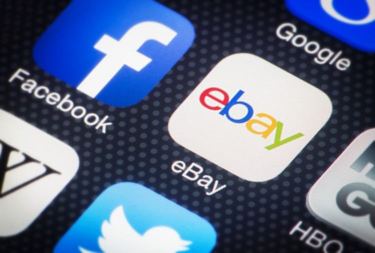eBay Inc (NASDAQ:EBAY), icon, App, Logo, Sign, Symbol, Online Shopping,