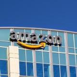 Amazon.com, Inc. (NASDAQ:AMZN), Sign, Building, headquarters, Logo, Brand
