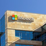 Microsoft Corporation (NASDAQ:MSFT), Logo, Sign, Building, Symbol, Corporation, Microsoft Corporate Building,
