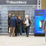 BlackBerry Ltd (NASDAQ:BBRY), BlackBerry corner, fuorisalone, people, black, editorial, mobile, design,