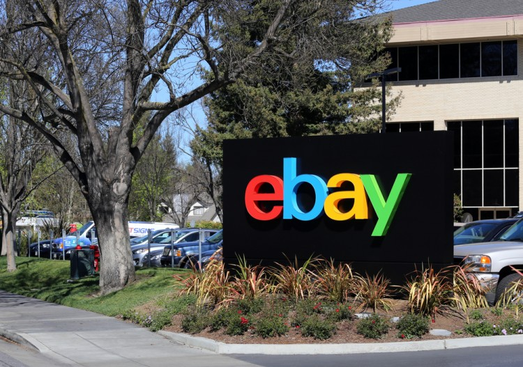 eBay Inc (NASDAQ:EBAY), Sign, Symbol, Logo, Corporation, Headquarters