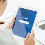 Facebook Inc (NASDAQ:FB), Facebook application login page, Apple iPad Air, tablet, logo