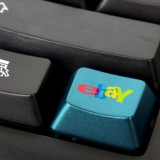 eBay Inc (NASDAQ:EBAY), button, keyboard, sign, symbol, logo, app