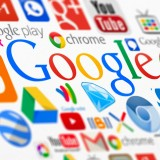 Google Inc (NASDAQ:GOOGL), sign, logo, symbols, logotypes, apps, icons, colors, search, media, gmail,