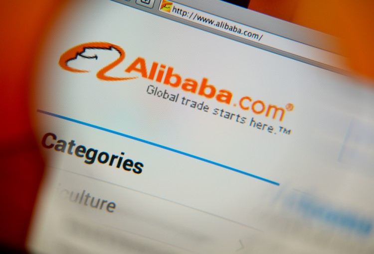 Alibaba Group Holding Ltd (NYSE:BABA), alibaba homepage, sign, internet, retail, portal