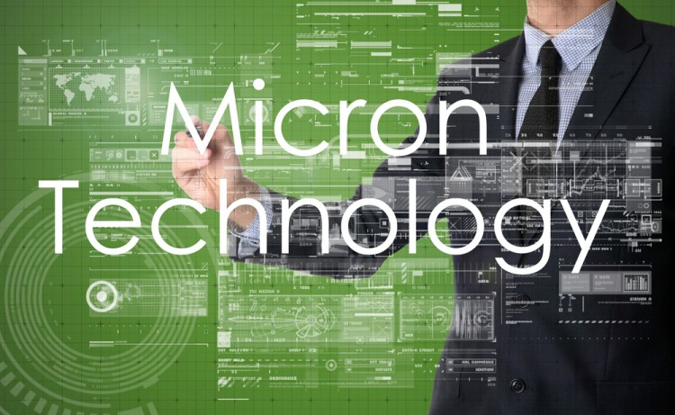 Micron Technology, Inc. (NASDAQ:MU), micro, network, diagrams, virtual screen, matrix, program, screen