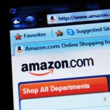 Amazon.com, Inc. (NASDAQ:AMZN), Homepage, Webiste, Close up, Online Shopping, Laptop,