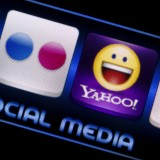 Yahoo! Inc. (NASDAQ:YHOO), Icon, App, Sign, Symbol, Smartphone, Screen, Soical Media Icons
