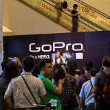 GoPro Inc (NASDAQ:GPRO), Sign, Logo, Brand, People, Presentation, Hero 4, Be hero, Thailand