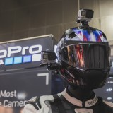 GoPro Inc (NASDAQ:GPRO), Camera, Sign, Brand, Bike, Riders, international motorcycle exhibition