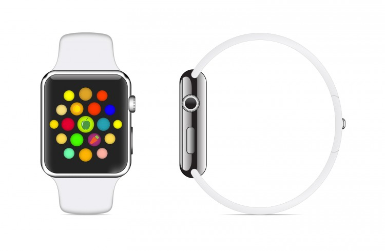 Apple Inc. (NASDAQ:AAPL), watch, smart, vector, wrist, sport