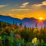 new, mountains, mountain, white, fall, sunset, leaves, foliage, park, green, atutumn, autumn, travel, appalachian,