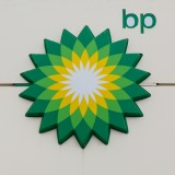 BP plc (ADR) (NYSE:BP), British Petroleum, Logo, Sign, Symbol, Isolated, Gas, Oil, Fuel