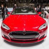Tesla Motors Inc (NASDAQ:TSLA), Car Model S P85D, Motor Show, brand, elegant, design,