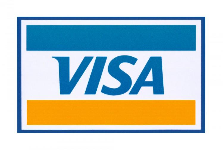 Visa Inc (NYSE:V), Logo, Sign, Symbol, Isolated