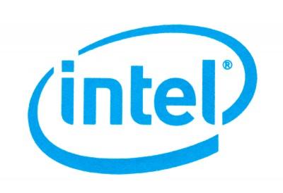 Intel Corporation (NASDAQ:INTC), Logo, SIgn, Symobl, Brand, Isolated
