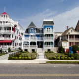 new, jersey, cape, may, nj, home, building, victorian, skyline, wood, architecture, house, hotel, vacation, white, spring, red, holiday, summer, blue, wooden, beautiful, residence, structure
