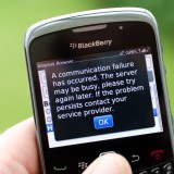 BlackBerry Ltd (NASDAQ:BBRY), phone, texting, text, sms, internet broken, no network, instant, server fail,
