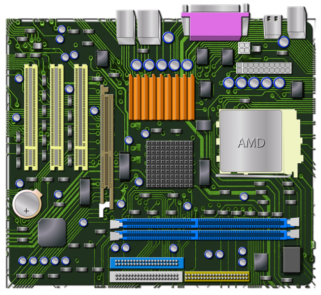 amd, graphics, motherboard